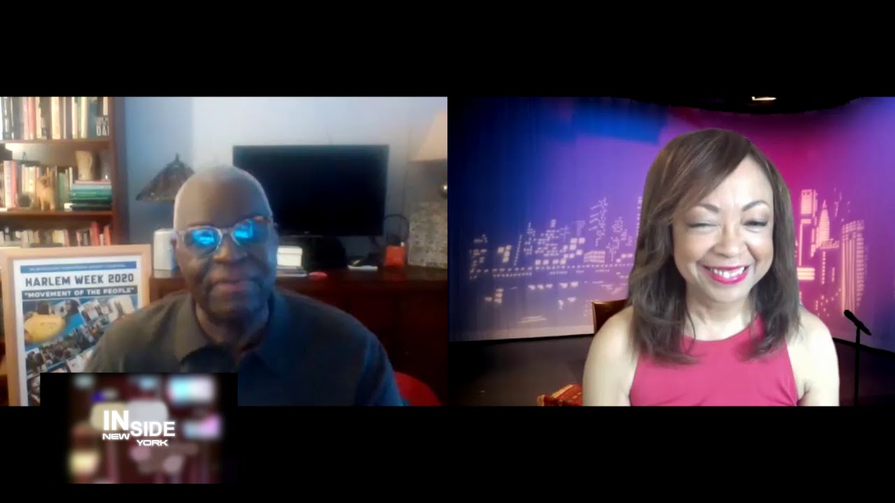 HARLEM ARTS ADVOCACY 2020 with VOZA RIVERS on INSIDE NEW YORK!