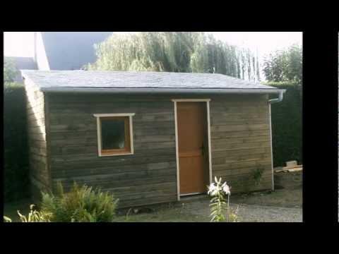 Charpente cabane de jardin youtube for Cabane de jardin