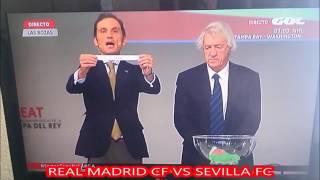 Sorteo 1/8 Copa del Rey