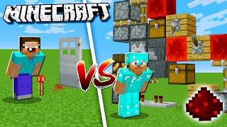 Minecraft NOOB vs. PRO: REDSTONE BATTLE in Minecraft!