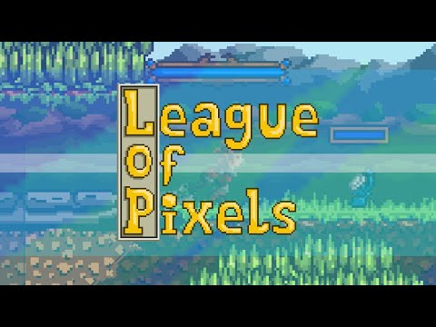 League Of Pixels - 2D MOBA [Steam Release Trailer]