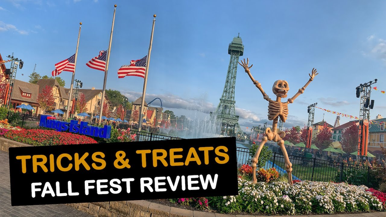 Tricks And Treats Fall Fest 2020 at Kings Island with Hyde