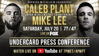 Caleb Plant vs Mike Lee - Press Conference