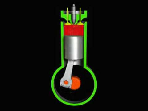 DIESEL FOUR STROKE ENGINE - YouTube