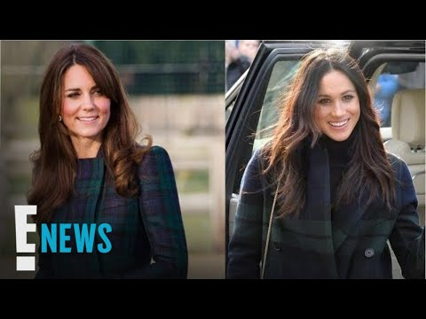 4 Times Meghan Markle & Kate Middleton Were Totally Twinning | E! News