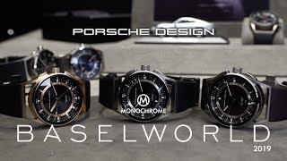 Baselworld 2019 - The new Porsche Design 2019 Watches, Incl. the 1919 Globetimer UTC