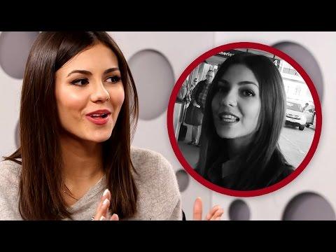 Victoria Justice Talks Ariana Grande Feud Rumor Video - Exclusive