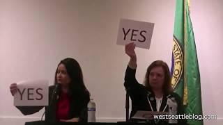 City Council P-9 candidates at West Seattle forum