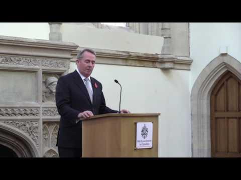 Gibraltar Day in London 2016 - Dr Liam Fox
