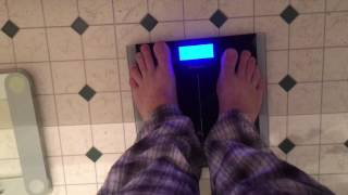 Product Review: Etekcity® High Precision 11lb-400lb Digital Body Weight Bathroom Scale, Black