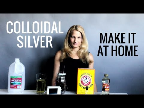 Learn To Make True Colloidal Silver At Home Using a Silvertron Elite - Earth Clinic