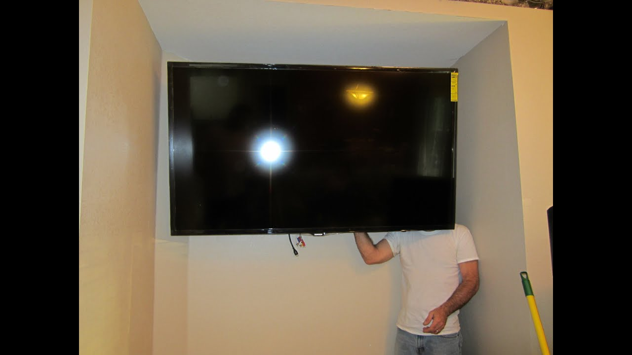 Hanging Your 65 Quot Samsung Tv Youtube