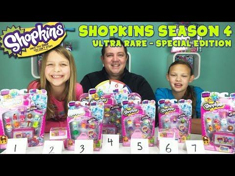Shopkins Season 4 Release - Ultra Rare - Special Edition