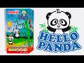 Meiji Hello Panda Biscuits - Assorted Party Box Strawberry Vanilla and Chocolate