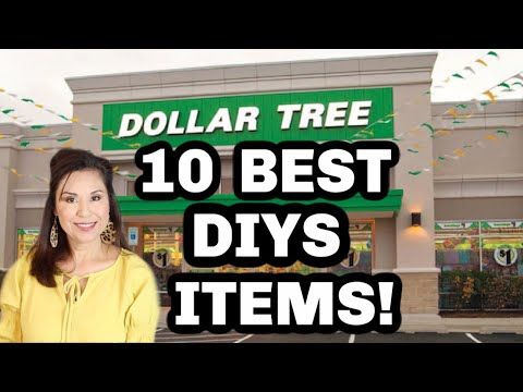 10 BEST DOLLAR TREE ITEMS FOR DIYS & CRAFTING / EVERYONE SHOULD KNOW!