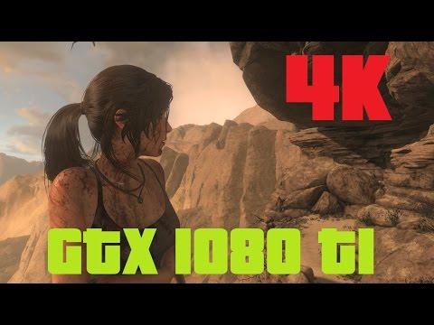 Rise of the Tomb Raider GTX 1080 Ti 4K Benchmark DX 12 (V.High Hair/Reflections)
