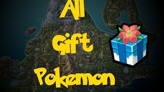 All Gift Pokemon (Pokemon Diamond/Pearl/Platinum)