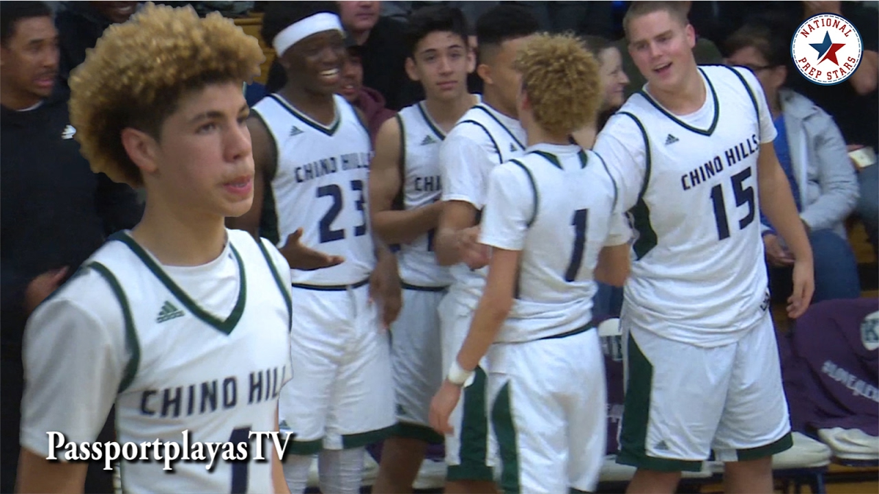 lamelo ball goes dummy in playoff win chino hills vs jserra youtube