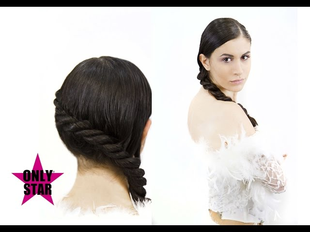 Nuove acconciature sposa  2017 tutorial - new wedding hairstyle - Peinado boda novia. Tutorial N°1