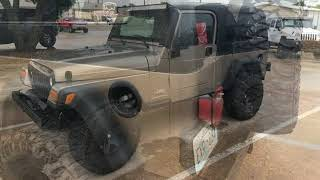 2004 Jeep Wrangler Unlimited Used Cars - McKinney,Texas - 2018-07-14