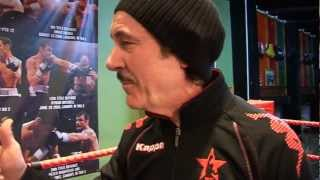 OUTTAKES from Enzo Calzaghe protein supplement promo film. VERY FUNNY