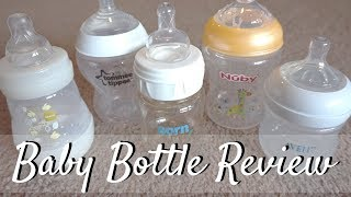 Baby Bottle Review // 2016