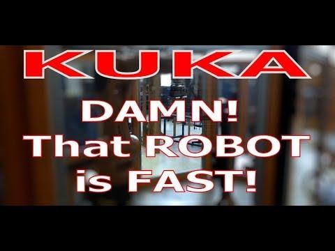 Kuka Robot Pouring Beer Hannover Messe Doovi