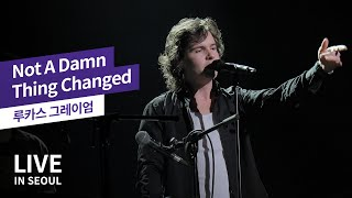 [4K] 루카스 그레이엄 (Lukas Graham) - Not A Damn Thing Changed (Live In Seoul, 2019)