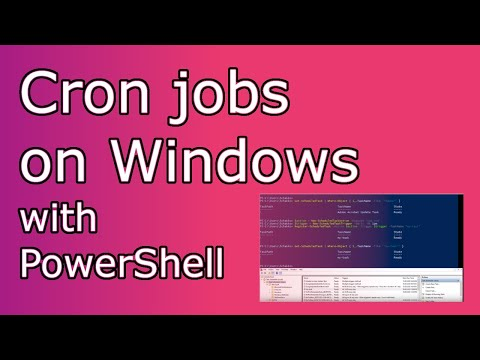 How To Add Cron Jobs / Scheduled Tasks On Windows With PowerShell