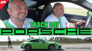 TRACK DAY: PORSCHE 911 Carrera 4S **3,3sec do 100km/h** (subtitle available)