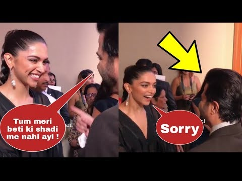 Deepika Padukone apologies Anil Kapoor for not attending Sonam Kapoor's marriage in a cute way !