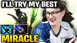 Miracle Tried His Best With Rubick Mid Lane