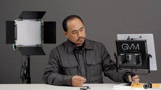 GVM Affordable High CRI LED Video Light Panels