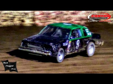 Hobby Stock Main At Canyon Speedway Park September 24th 2016