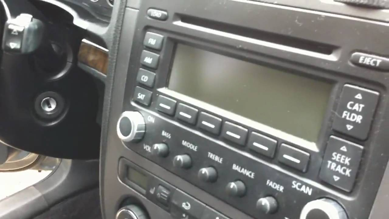 2005 5 VW Jetta - Turn satellite radio into aux input for iPod/iPhone or MP3