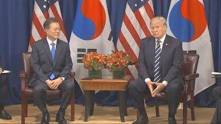 '획득 지원' 최첨단 군사자산은…핵잠수함ㆍ정찰위성 등 거론 / 연합뉴스TV (YonhapnewsTV)