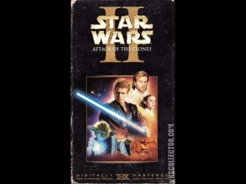 Opening To Star Wars Episode II:Attack Of The Clones 2002 VHS