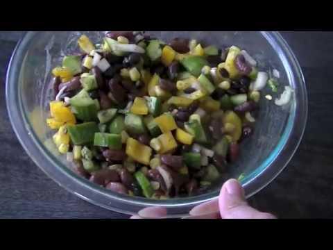 Summer Beans Salad Recipe   Easy Homemade Summer Side Dish