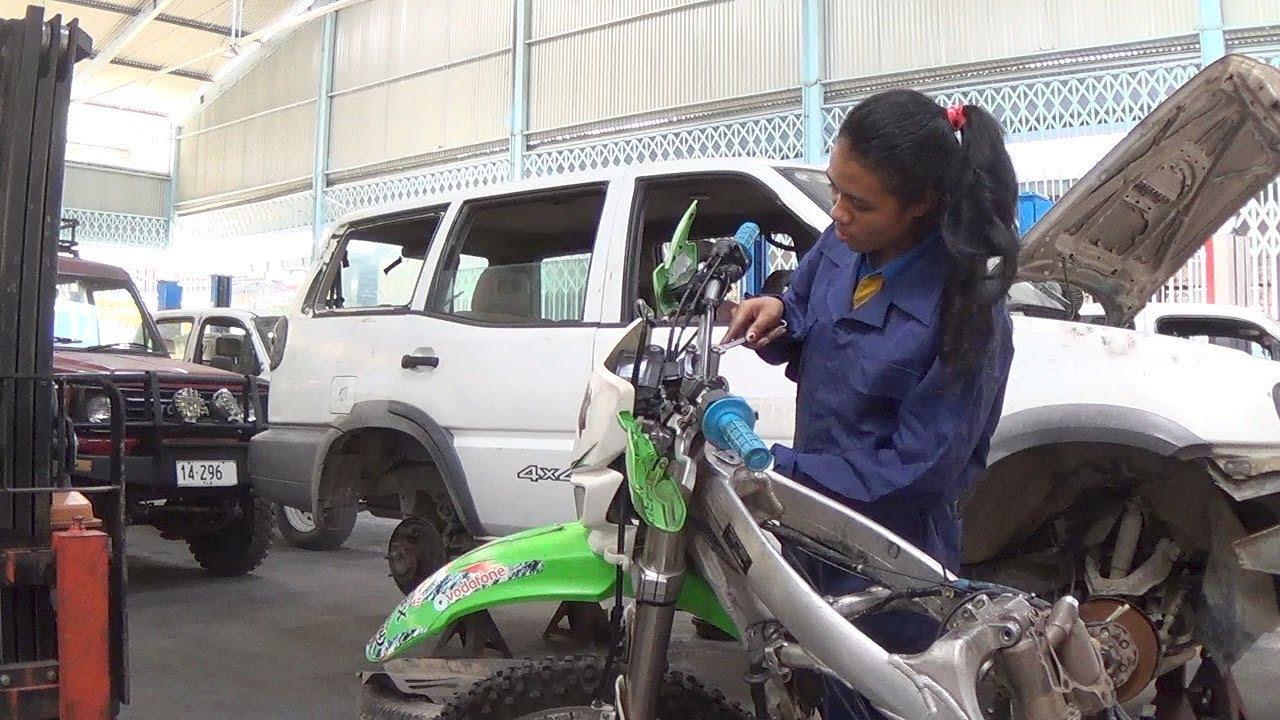 Meet Timor-Leste's First-ever Female Mechanic