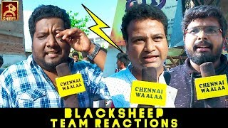 "Jaalra To HipHop Aadhi"" | Natpe Thunai With RJ Vignesh l BlackSheep Team Funny & Serious Reactions!"