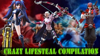 Mobile Legends - Crazy Lifesteal Compilation