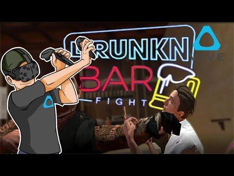 Se viene todo el barrio   Peleas de Borrachos   Drunkn Bar Fight   Domingo de Realidad Virtual  