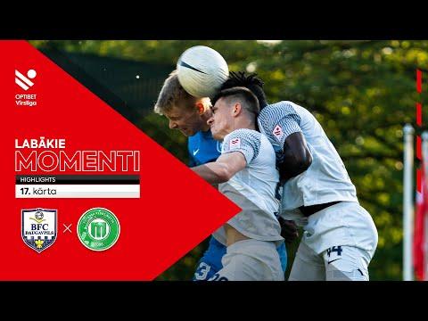 BFC Daugavpils Metta LU Riga FS Goals And Highlights