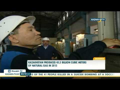 Kazakhstan produces 45.3 billion cubic meters of natural gas in 2015 - Kazakh TV