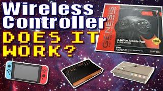 Retro-Bit Wireless Pad for Sega Genesis and more!