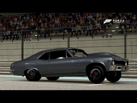 Forza Rwd Drag Meet Nova Slow Street Car