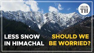 Himachal receiving less snowfall, environmentalists worried