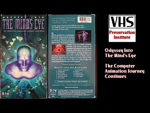 Odyssey Into the Mind's Eye: The Computer Animation Journey Continues VHS Tape Preservation