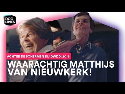 Kees Maakt Kennis Met Matthijs Van Nieuwkerk Achter De Schermen Van DWDD • Doclines
