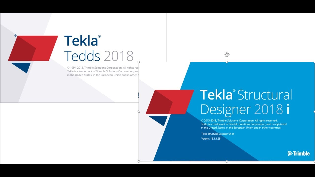 HOW TO USE TEKLA STRUCTURAL DESIGNER AND TEKLA TEDDS IN SAME PC